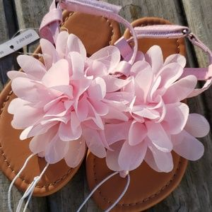 Other - Pink Flower Sandals NEW